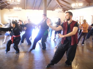 Master Campbell teaching Fire Qigong